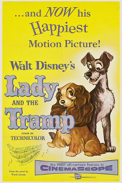 Disney's Lady and the Tramp poster