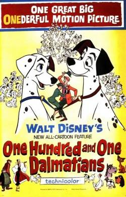 Disney's One Hundred and One Dalmatians poster