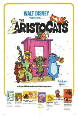 Disney's The Aristocats poster