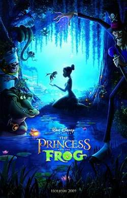 Disney's The Princess and the Frog poster
